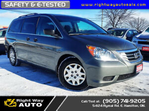 2008 Honda Odyssey LX | DVD | SAFETY & E-TESTED
