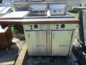 USED Stainless Steel Single Deep Fryers $100.00 and up