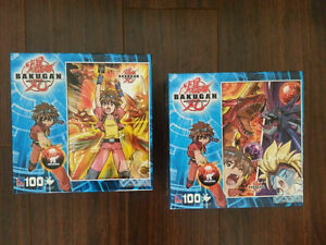 Bakugan Puzzle 100 pcs. (new)