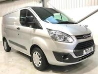 2017 FORD TRANSIT CUSTOM TREND 2.0TDCi 130PS 290 L1H1 SWB SILVER LOW MILEAGE
