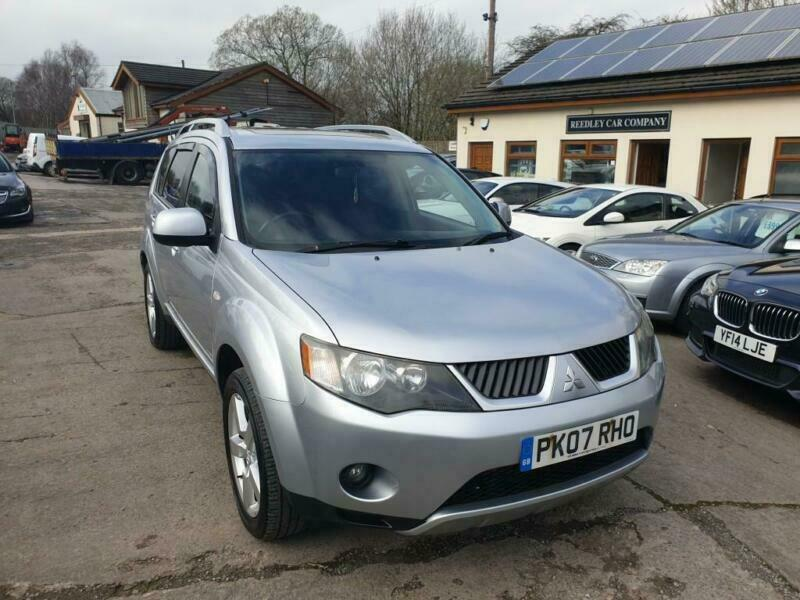 2007 Mitsubishi Outlander 2 0 INTENSE ELEGANCE H-LINE DI-D 5DR 4X4 SEVEN  SEATS | in Burnley, Lancashire | Gumtree