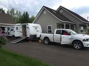 2009 Outback Toy Hauler  35ft  Hauls with 1/2 Ton (GVWR 7550Lbs)