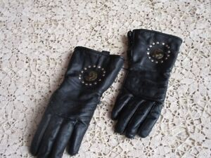 Ladies Vintage Style Motorcycle Gloves--Very Decorative