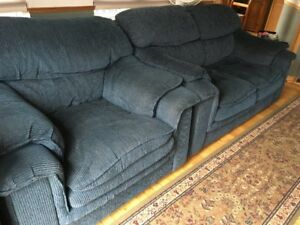 Loveseat and Matching Chair in Very Good Condition - MUST GO