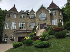 "WATERFRONT HOME FOR SALE  "" SPECTACULAR ""  WOW ! 514-730-4511"