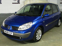 2006 06 RENAULT SCENIC 1.6 VVT 111 Bhp DYNAMIQUE MPV * 1 Owner * AUTO Light/Wipe