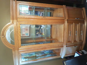 Large hutch / dining cabinet