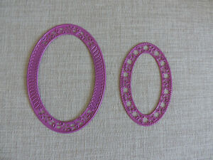 Oval cutting dies for Scrapbooking/Cardmaking
