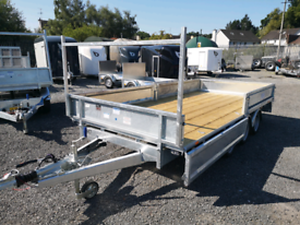 Dale kane 14x6,6 flatbed trailer