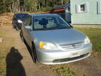 2003 Honda Civic silver Sedan