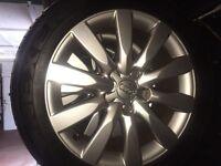 "17"" Audi wheels"