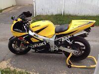Suzuki gsxr 600 2001 A1 18000km