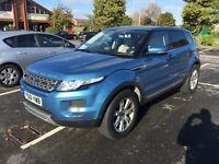 2012 Range Rover evoque pure T 17000 miles