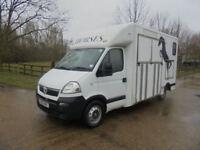 Vauxhall Movano 2.5CDTI 16v ( 100ps ) LWB 3500 High Roof horse box
