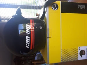 TWO BRP CAN-AM HELMETS