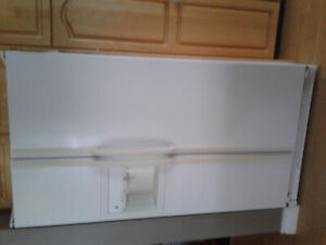 "36"" GE SIDE BY SIDE  refrigerator"