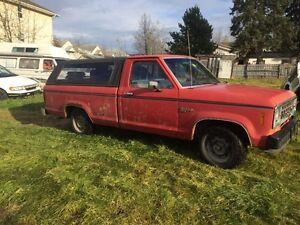 1986 Ford Ranger Diesel Pickup Truck