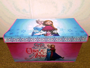 Disney Frozen Foldable Large Toy Box With Lid