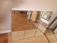 Free large 3 door mirror cabinet