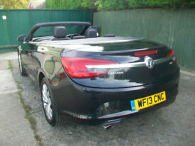 Vauxhall/Opel Cascada 2.0CDTi 16v ( 165ps ) ( s/s ) SE convertible diesel