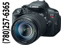 CANON Rebel T5i with: 50mm Lens & 55-250mm ZOOM Lens