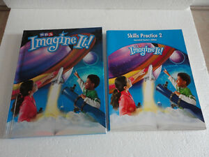 SRA Imagine It Textbook and Skills Practice 2 Annotated Edition London Ontario image 1
