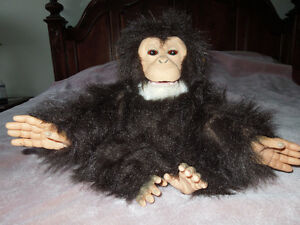 FurReal Friends Animated Toy Cuddle Monkey Chimp 14""