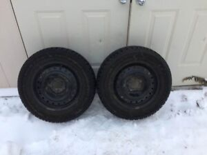 GOODYEAR NORDIC Winter Tires with Rims