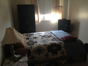 Large Furnished bedroom for rent