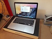 Apple A1502 MacBook Pro Retina Laptop - 128GB SSD, 16GB RAM, 2.7ghz i5 CPU