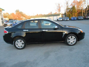 2009 FORD FOCUS 4 DOOR SEL Sedan 1 YEAR WARRANTY INCLUDED