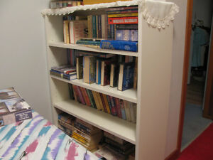 BOOKCASE/SHELVING--ESTATE SALE
