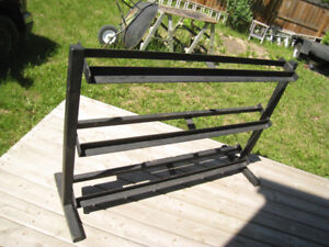 3-TIER 5-FOOT HEAVY DUTY DUMBBELL RACK - $240 - Will deliver in