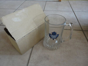 Brand new in box Toronto Maple Leafs glass beer mug London Ontario image 2