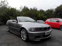BMW 325 2.5 AUTOMATIC Ci Sport CONVERTIBLE JUST 58000 MILES 54 PLATE LEATHER