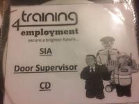 Sia- Door Supervisor Training Cd 98% Rate
