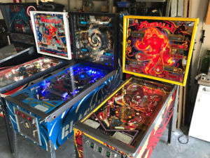 PINBALL MACHINE S IN ANY CONDITION - ALSO REPAIRS, REFURBISHING