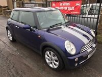 2005 MINI COOPER 1.6, MOT JANUARY 2018, WARRANTY