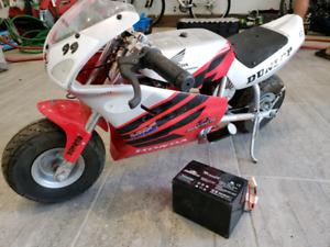 Electric mini motorcycle Honda