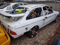 Ford Sierra Cosworth Looking Built Banger, Less Cage/Door Plate