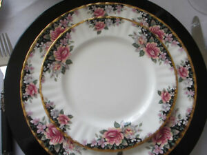 Royal Albert China Plates - Concerto pattern