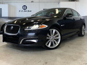2013 JAGUAR XF V6|AWD|NAV|BLIND SPOT|RED INTERIOR|BACK UP|