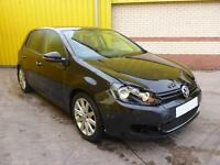 2009 VOLKSWAGEN GOLF GT 2.0 TDI 6 SPEED MAN