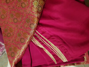 Unstiched silk and pure banarsi suits