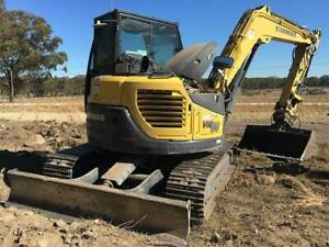 Bolt On Rubber Pads to suit Yanmar VIO75 VIO80 Excavators St Marys Penrith Area Preview
