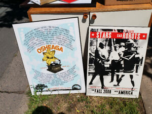 Backed Concert Posters - Free