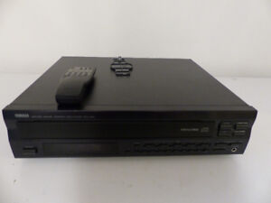 Yamaha Natural Sound Compact 4 Disc Player Model CDC665