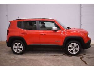 2018 Jeep Renegade LIMITED 4x4 - NAV * LEATHER * BACKUP CAM