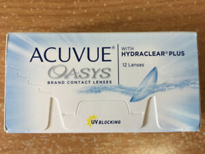 Acuvue Oasys Contact lenses eyeglasses prescription