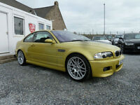 2003 (03) BMW M3 3.2 Coupe ( 345 bhp )